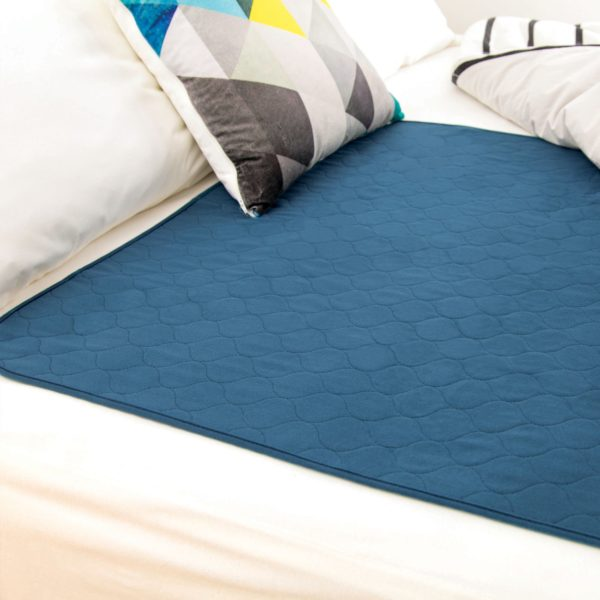 Conni Bed Pad Teal Blue