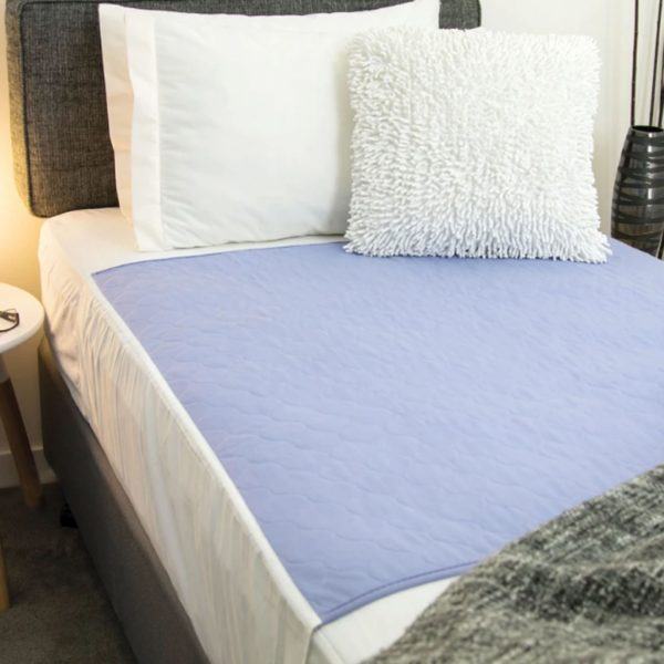 Conni Bed Pad with Tuck-In Mauve