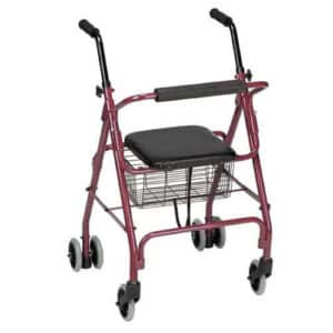 Deluxe Aluminium Weight Activated Walker