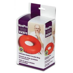 Inflatable rubber Invalid Ring