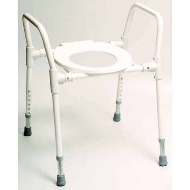 Toilet Frame With Seat.Standard Over Toilet Frame