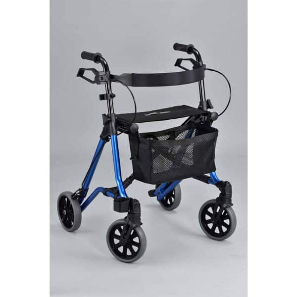 Sparkling Blue Taima Side Folding Walker
