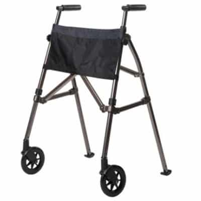 Black Walnut EZ Fold N Go Walker