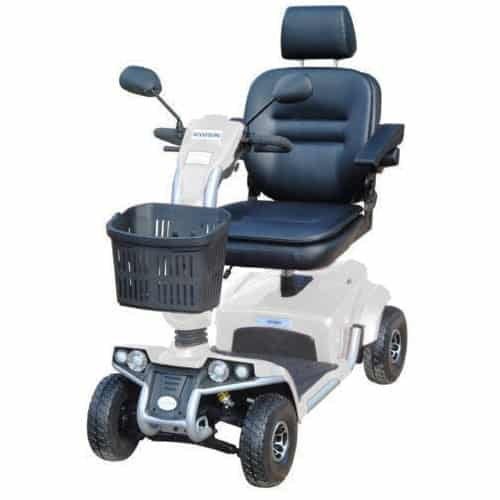 White Freedom Odyssey Mobility Scooter
