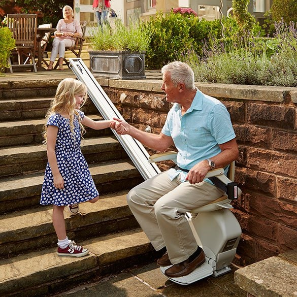 Outdoor StairLift