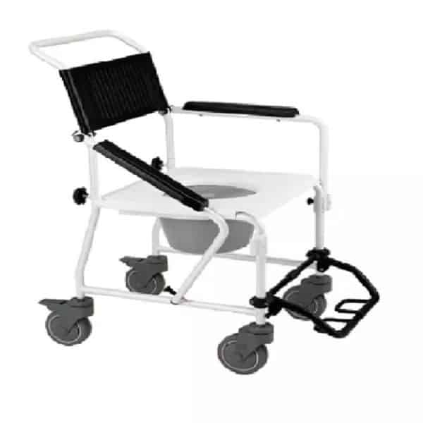 Transport Commode Shower Chair