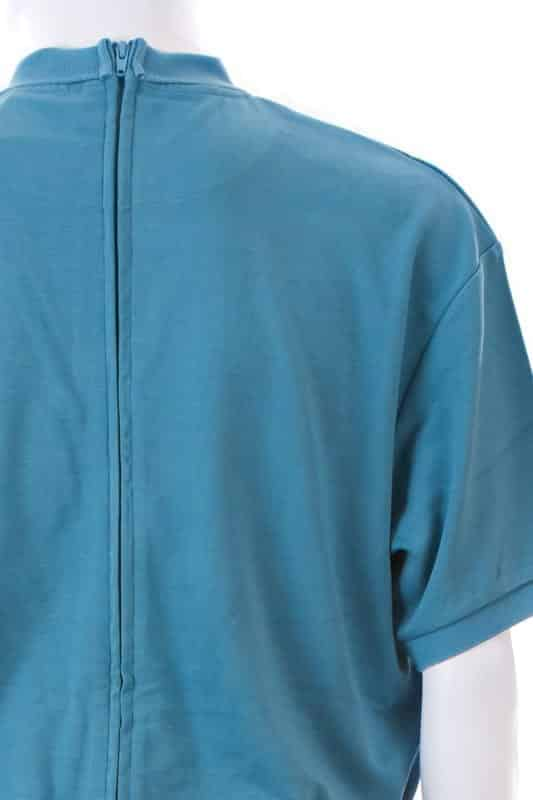 Teal Top and Black Pants Men's Dignity Suit
