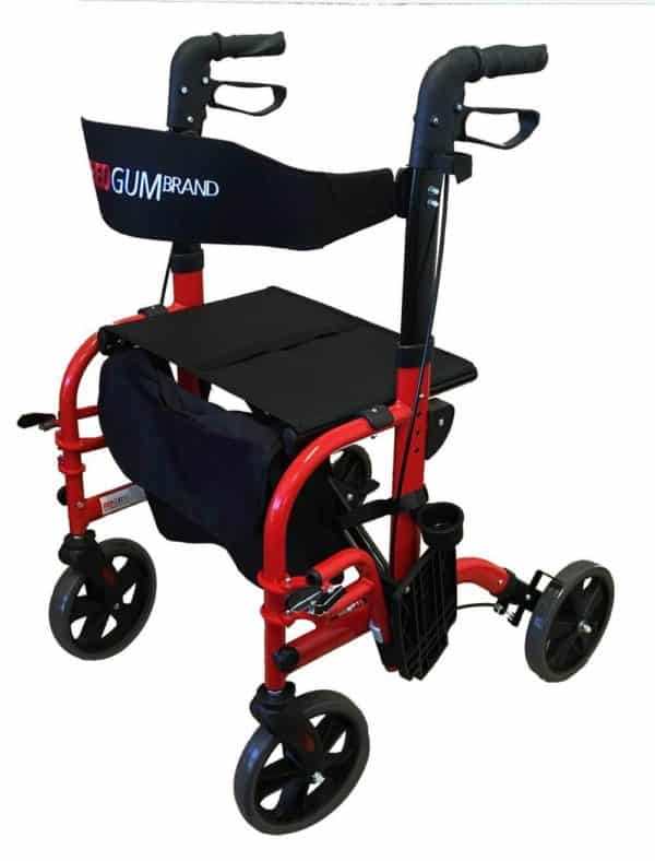 REDGUM CrossOver 2-in-1 Rollator / Walker