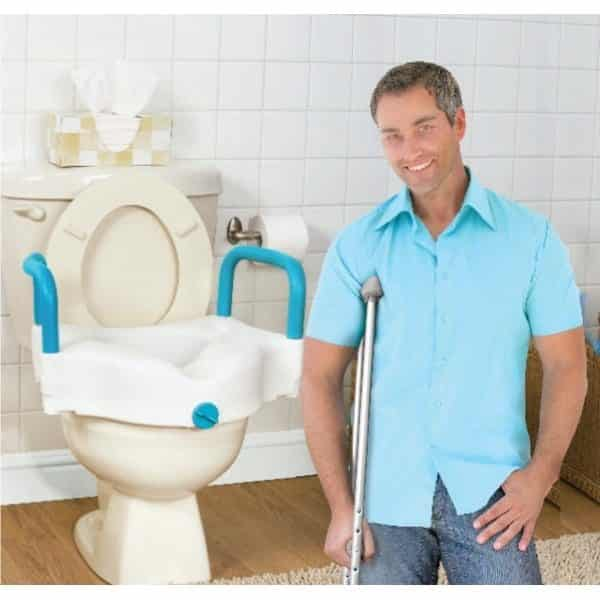 AquaSense 3-in-1 Raised Toilet Seat