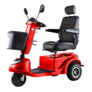Red Freedom Lunar Grand Mobility Scooter