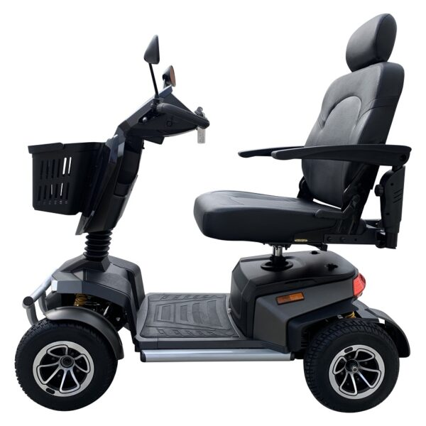 Freedom Voyager Mobility Scooter Black Side