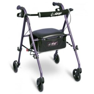 Airgo Ultra-Light Rollator- Eggplant