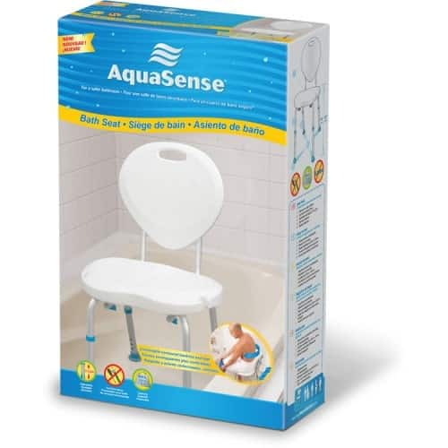 AquaSense® Adjustable Bath Seat Box