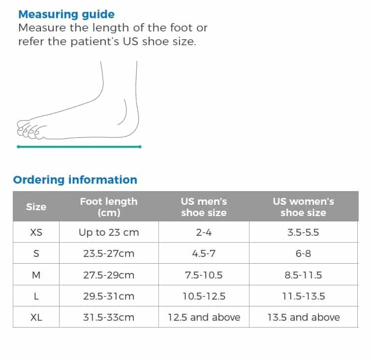 OrthoStep Short Measuring Guide